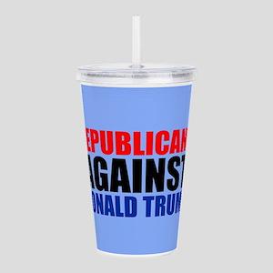 Anti Trump Republican Acrylic Double-wall Tumbler