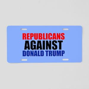 Anti Trump Republican Aluminum License Plate