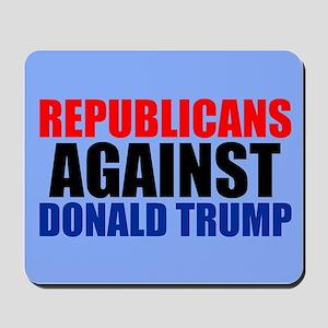 Anti Trump Republican Mousepad