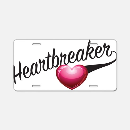 Heartbreaker Aluminum License Plate