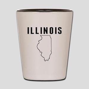 Illinois Shot Glass