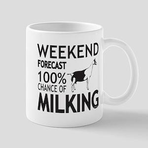 Alpine Dairy Goat Weekend Forecast Mugs