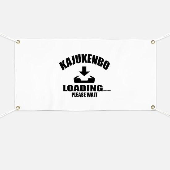 Kajukenbo Loading Please Wait Banner