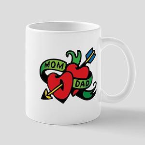 Funny Valentine Tattoo Mugs