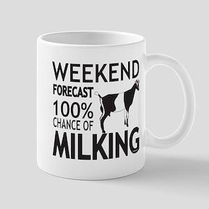 LaMancha Dairy Goat Weekend Forecast Mugs
