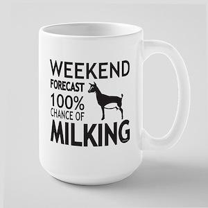 Nigerian Dwarf Dairy Goat Weekend Forecast Mugs