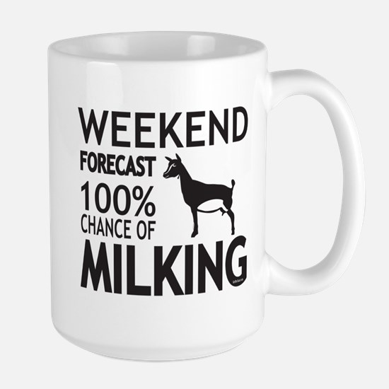 Nigerian Dwarf Dairy Goat Weekend Forecast Mugs