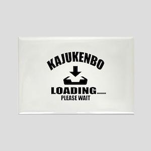 Kajukenbo Loading Please Wait Rectangle Magnet
