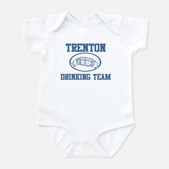TRENTON drinking team Infant Bodysuit