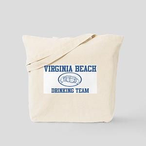 VIRGINIA BEACH drinking team Tote Bag
