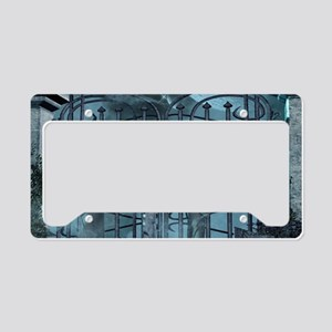 Gothic style License Plate Holder