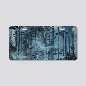 Gothic style Aluminum License Plate