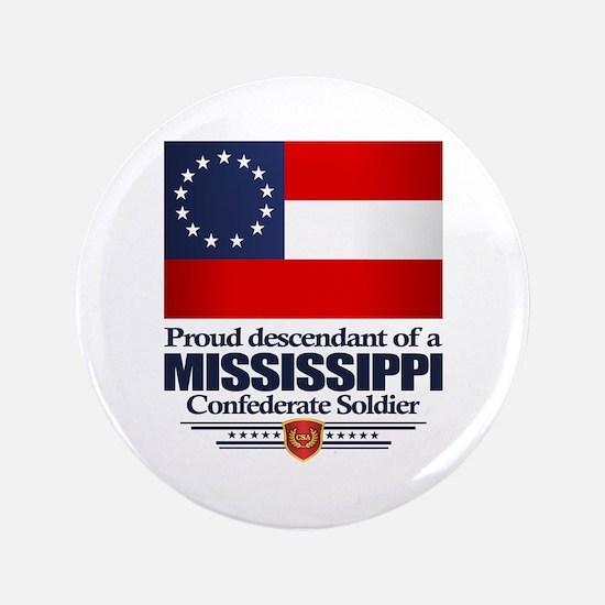 Mississippi Proud Descendant Button