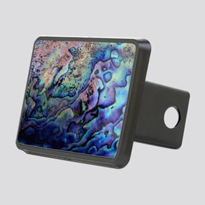 Abalone Rectangular Hitch Cover