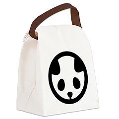 Panda mon Canvas Lunch Bag