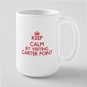 Keep calm by visiting Carter Point Washington Mugs