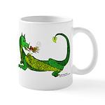 Flamin' Green Dragon Mug