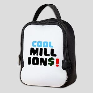 COOL MILLIONS! Neoprene Lunch Bag