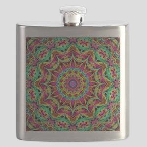 Rainbow Energy Mandala Flask
