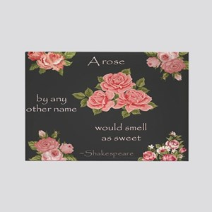 A Rose By Any Other Name Magnets
