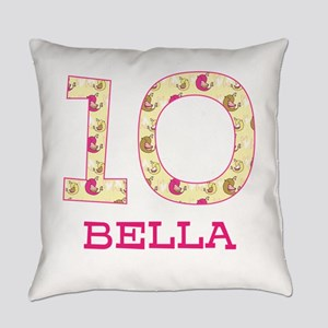 10th Birthday Personalized Everyday Pillow