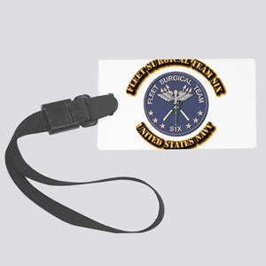 Fleet Surgical Team Six with Tex Large Luggage Tag