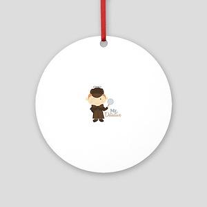 Mr Detective Ornament (Round)