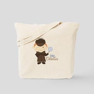 Mr Detective Tote Bag