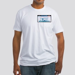 License Plate Fitted T-Shirt