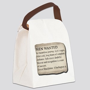 Shackleton Antarctica - Canvas Lunch Bag