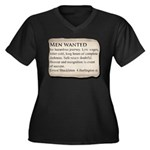 Shackleton A Women's Plus Size V-Neck Dark T-Shirt
