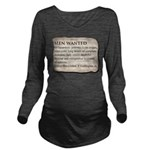 Shackleton Antarctic Long Sleeve Maternity T-Shirt