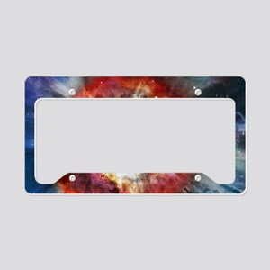 Helix Nebula License Plate Holder