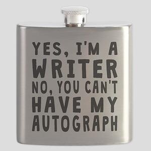 Writer Autograph Flask