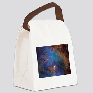 Nebula Canvas Lunch Bag