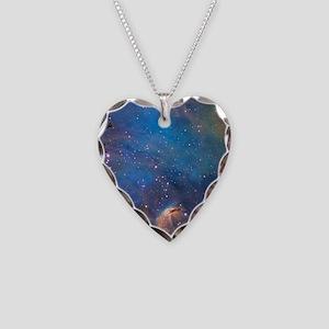 Nebula Necklace Heart Charm