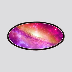 Red And Purple Nebula Patch