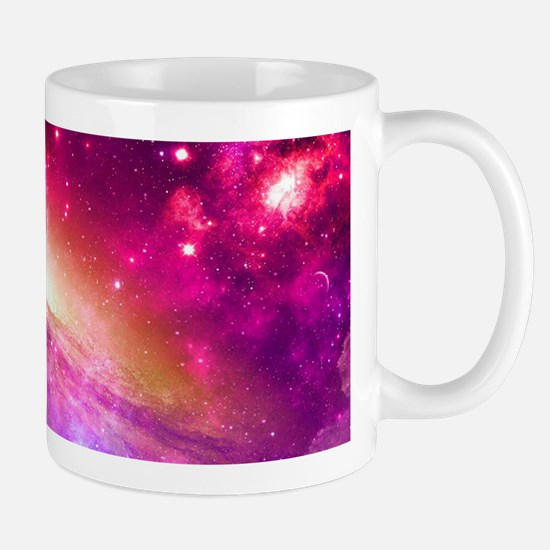 Red And Purple Nebula Mugs