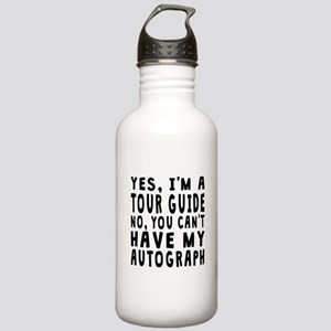 Tour Guide Autograph Water Bottle