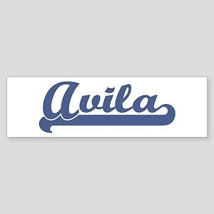 Avila (sport-blue) Bumper Sticker