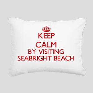 Keep calm by visiting Se Rectangular Canvas Pillow
