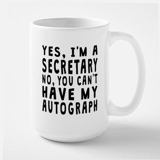 Secretary Autograph Mugs