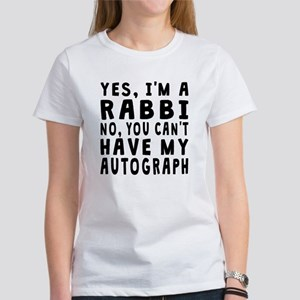 Rabbi Autograph T-Shirt