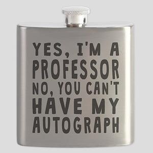 Professor Autograph Flask