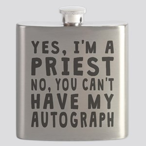 Priest Autograph Flask