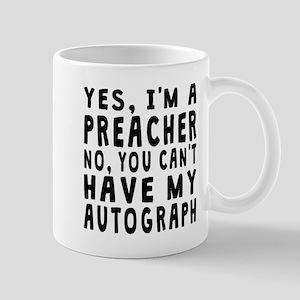 Preacher Autograph Mugs