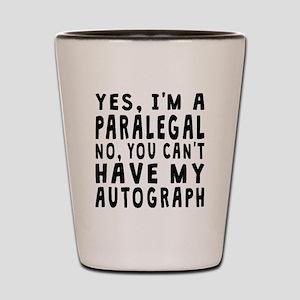 Paralegal Autograph Shot Glass