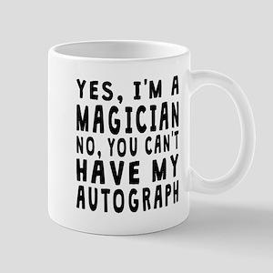 Magician Autograph Mugs