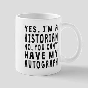Historian Autograph Mugs