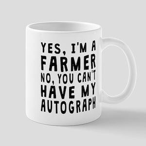 Farmer Autograph Mugs